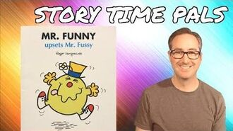 MR. FUNNY UPSETS MR. FUSSY by Roger Hargreaves Story Time Pals Kids Books Read Aloud