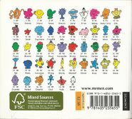 Mr Men 2000s back cover