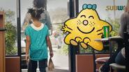 Little Miss Sparkle in Subway