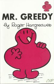 Mr Greedy cassette cover