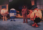 The Mr. Men Musical (Rare Photo 1985)