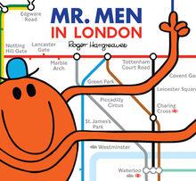 Mr. Men in London Cover