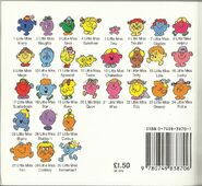 Little Miss Mid to Late 1990's back cover