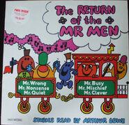 Return of the Mr. Men cover