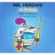 Mr. Bump and the Knight Welsh Cover