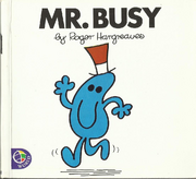 Mr Busy Front Cover