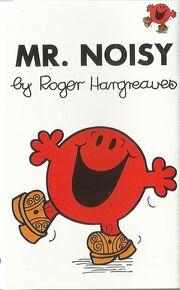 Mr Noisy cassette cover