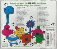 Song Time with the Mr Men (CD Back Cover)