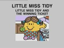 LITTLE MISS TIDY AND THE WINNING TICKET