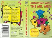 Song Time with the Mr Men (Cassette Cover)
