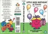 Little Miss Birthday and Friends Cassette Cover