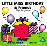 Little Miss Birthday and Friends front cover