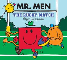 Mr. Men - The Rugby Match Cover