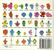 Mr men early 90's back cover