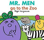 Mr. Men go to the Zoo cover