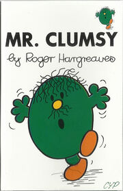 Mr. Clumsy cassette cover
