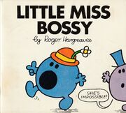 Little Miss Bossy first edition