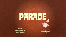 Parade Title Card