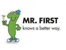 Mr. First