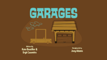 Garages Title Card