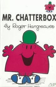 Mr Chatterbox cassette cover