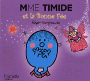 Little Miss Shy and the Fairy Godmother French Cover