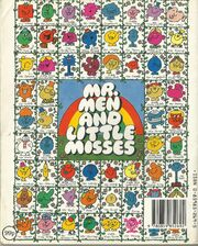 Mr Men Own Stories Back Cover