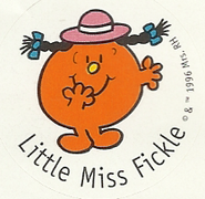 LITTLE MISS FICKLE 5A