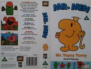 Mr Topsy Turvy and- friends vhs