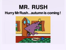 Hurry mr rush..