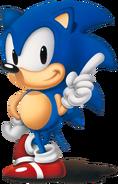 Sonic-pose