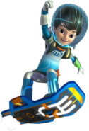Miles from tomorrowland miles on his blastboard by jackandannie180-d8gplnd