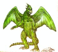 Gappa the triphibian colored by therealgamera-d660xla