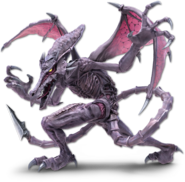 SSB Ultimate Ridley render