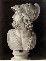 457px-Brogi, Giacomo (1822-1881) - n. 4140 - Roma - Vaticano - Menelao - Busto in marmo