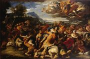 Battle-Between-the-Lapiths-and-Centaurs