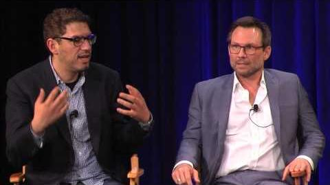 "Christian Slater & Sam Esmail ""USA's Mr. Robot"""