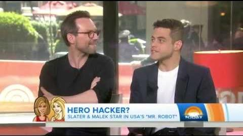 Rami Malek & Christian Slater on the TODAY Show