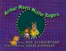 Arthur Meets Mister Rogers