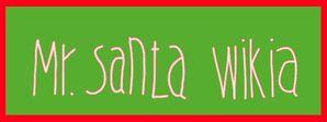Mr. Santa Wikia Logo