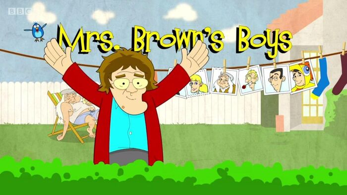 Mrs Brown's Boys Title Card