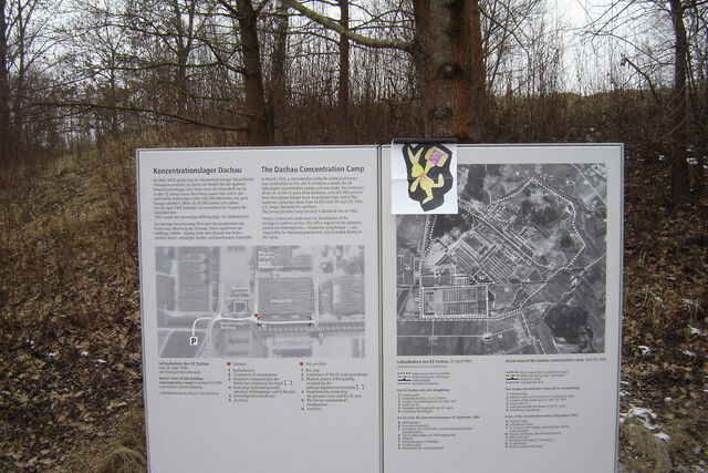 File:Felix visiting the concentration camp in Dachau Germany.JPG