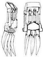 Hand Claws
