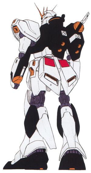 RX-93 v Gundam Back