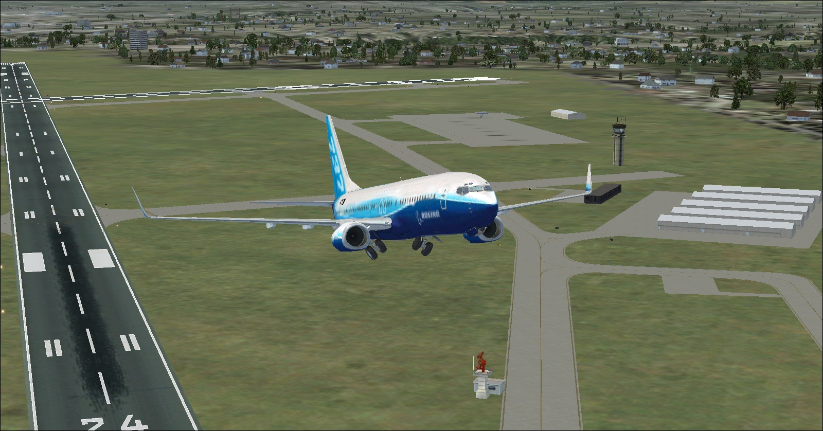 Boeing 737-800 fmc simulator - ghabinbime
