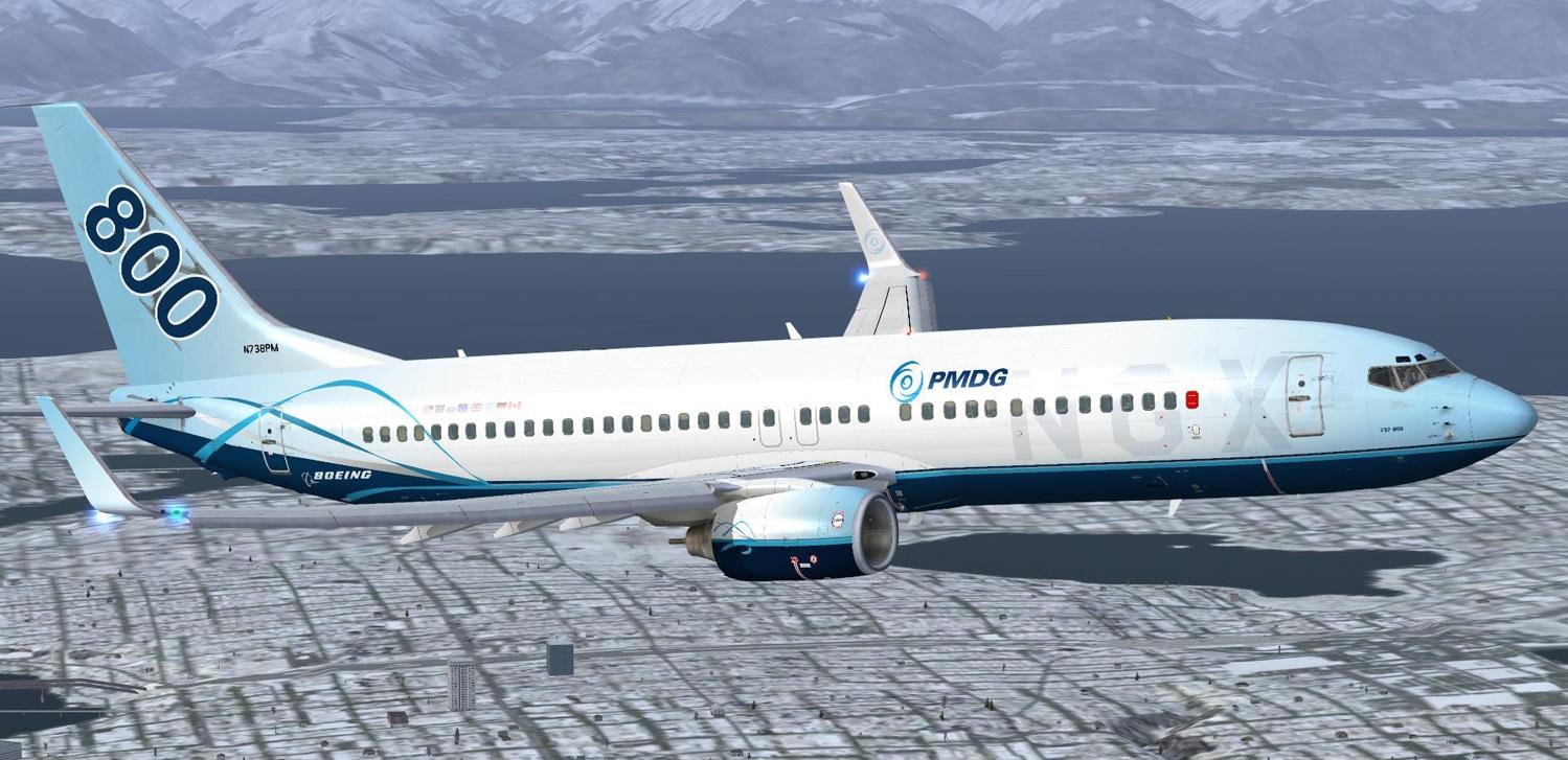 PMDG Boeing 737 NGXFan Feed