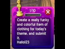 The quest that hallo123 had gliched
