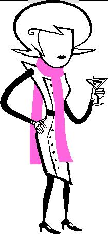 Mom pinkscarf