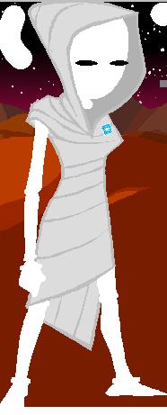 Whitequeenstamp