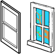 Beta window